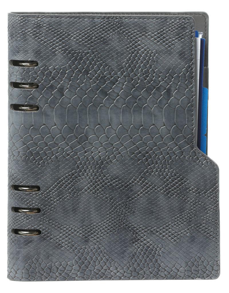 Kalpa Compact A5 organizer Croco Grijs