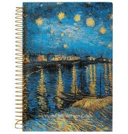 Kalpa D5346-1 Van Gogh Notebook spiral Harbour