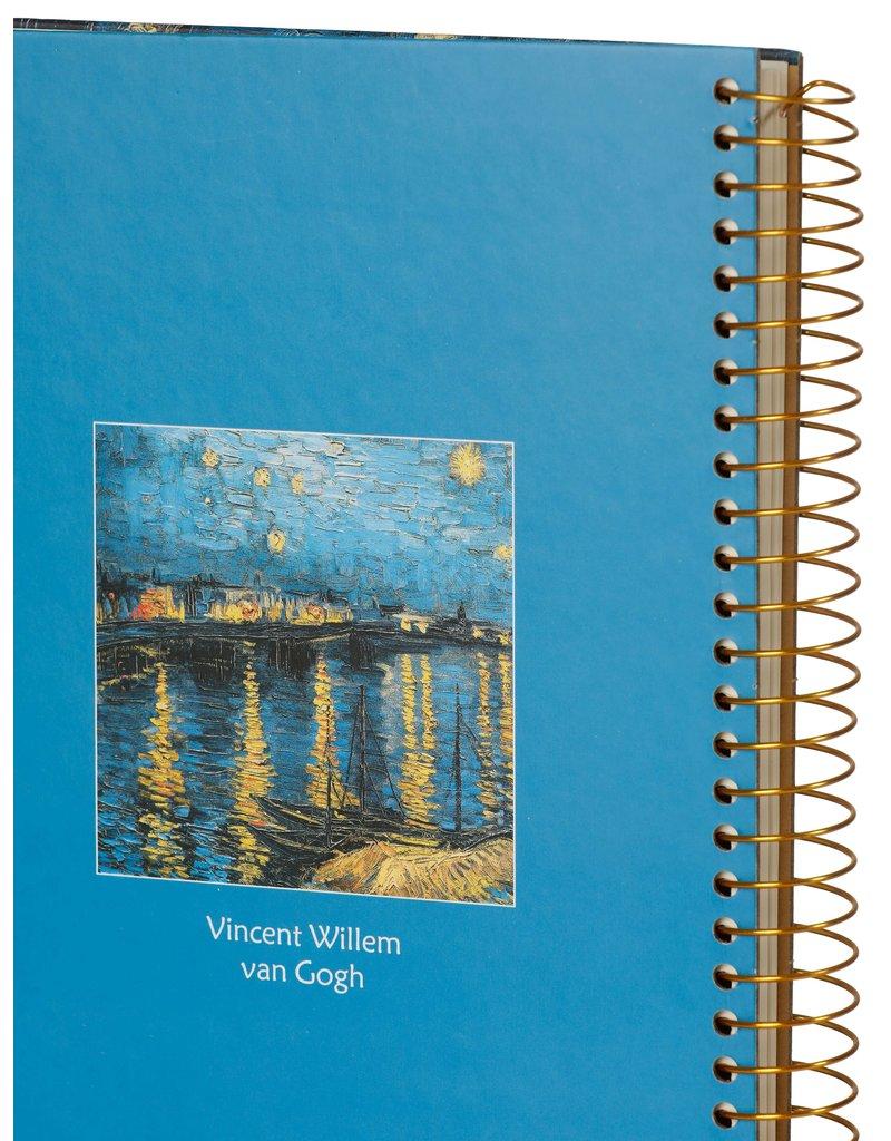 Kalpa Van Gogh Notebook spiral Harbour
