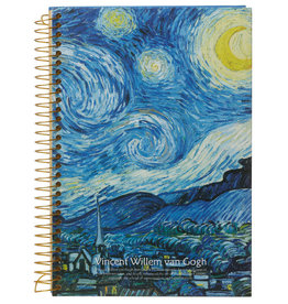 Kalpa D5346-3 Van Gogh Notebook spiral Village