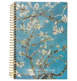 Kalpa D5346-4 Van Gogh Notebook spiral Blossom