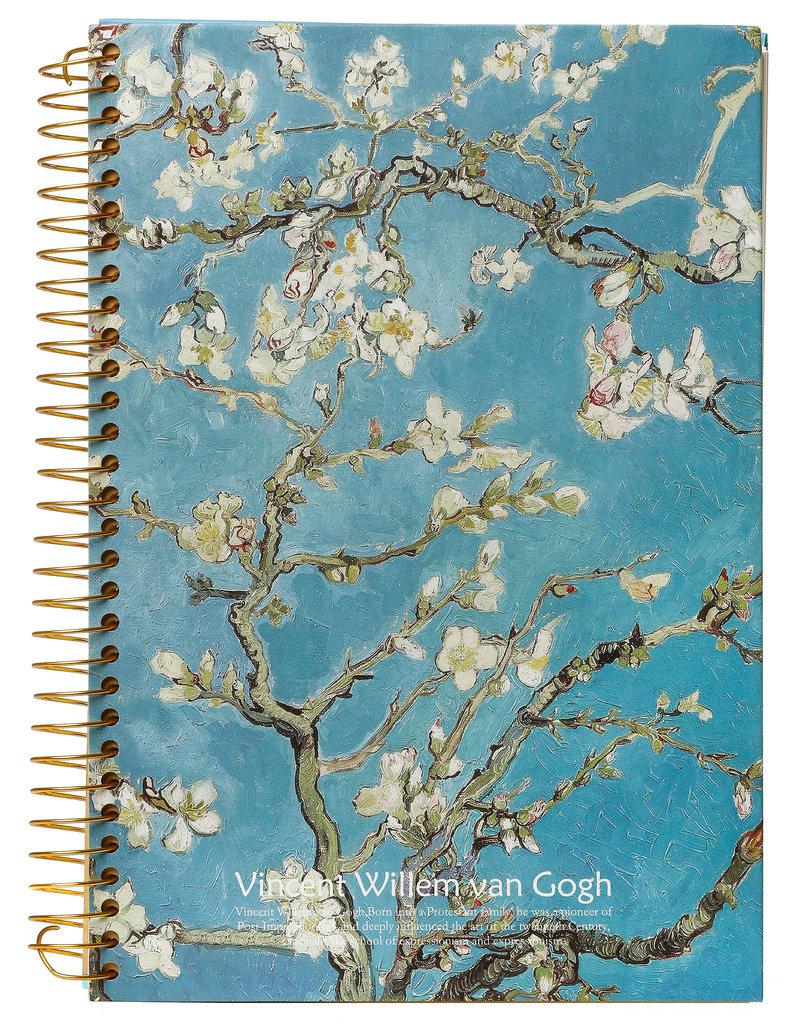 Kalpa Van Gogh Notitieboek spiraal Bloesem