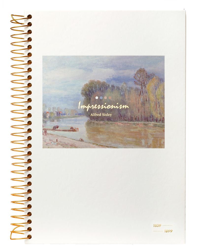 Kalpa Kalpa Notebook spiral Impressionism River