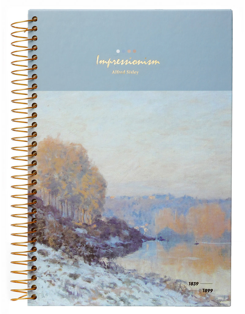 Kalpa Kalpa Notitieboek spiraal Impressionisten Meer