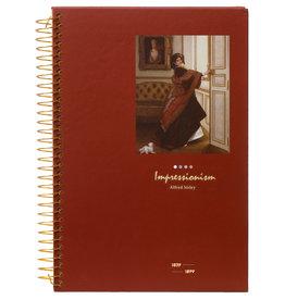 Kalpa D5347-3 Notebook spiral Impressionism Lady