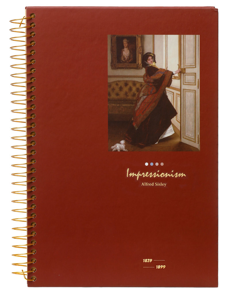 Kalpa Kalpa Notebook spiral Impressionism Lady