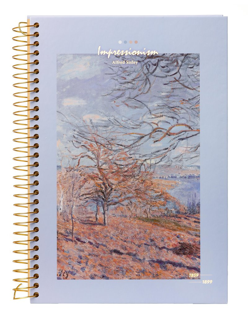 Kalpa Kalpa Notebook spiral Impressionism Trees