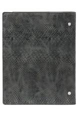 Kalpa Compact A5 organiser Croco Grey