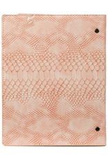 Kalpa Compact A5 organiser Croco Pink