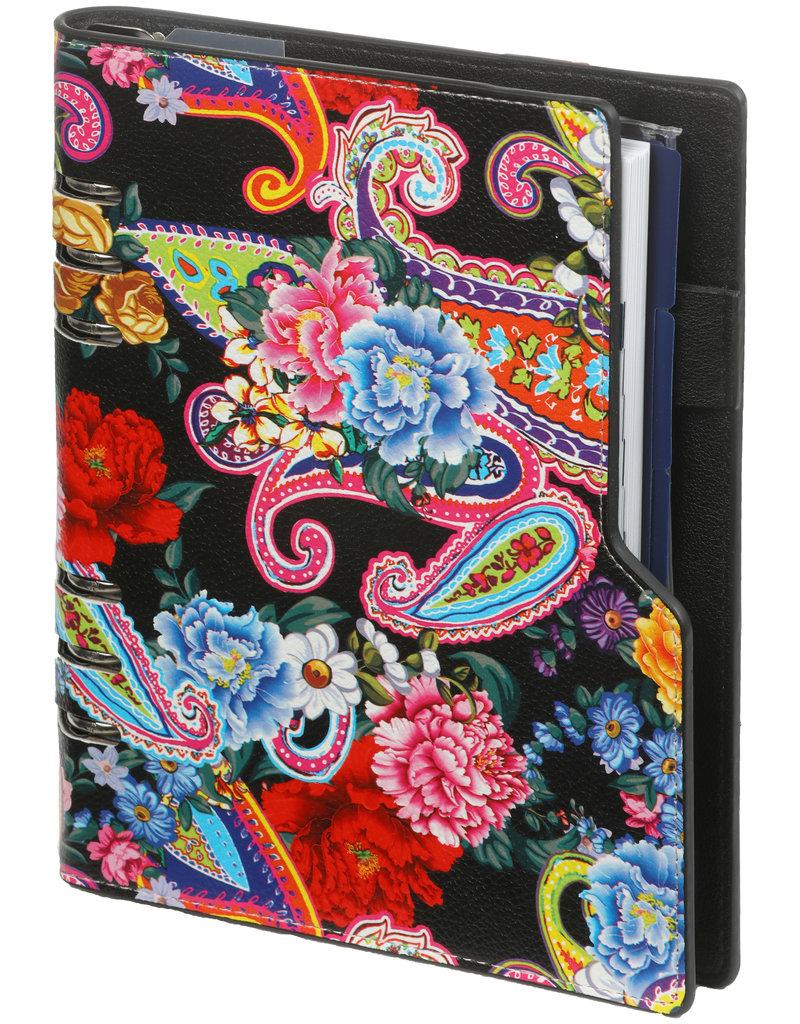 Kalpa Compact A5 organiser compact flower power
