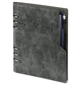 Kalpa 1016-76 Compact A5 organiser Croco Grey