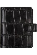 Kalpa Pocket organiser croco print black - leather