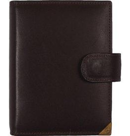 De Rooy 1311-Xd de Rooy pocket (junior) organizer sepia bruin - leer