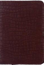 Kalpa Kalpa Pocket organizer croco brown