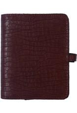 Kalpa Pocket organiser croco brown