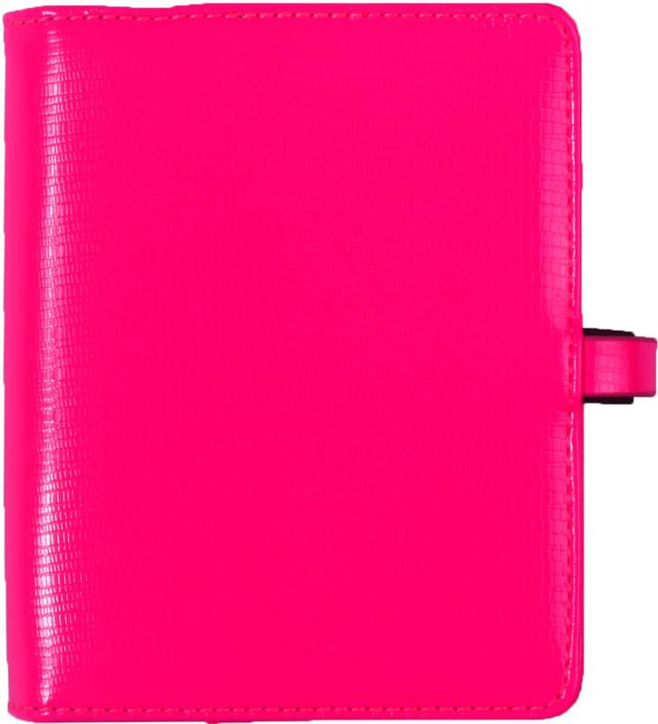 Kalpa 1311-45 Kalpa Junior Pocket Organiser With Paper Fillers, Weekly Planner, Journal, Diary - Agypa Pink