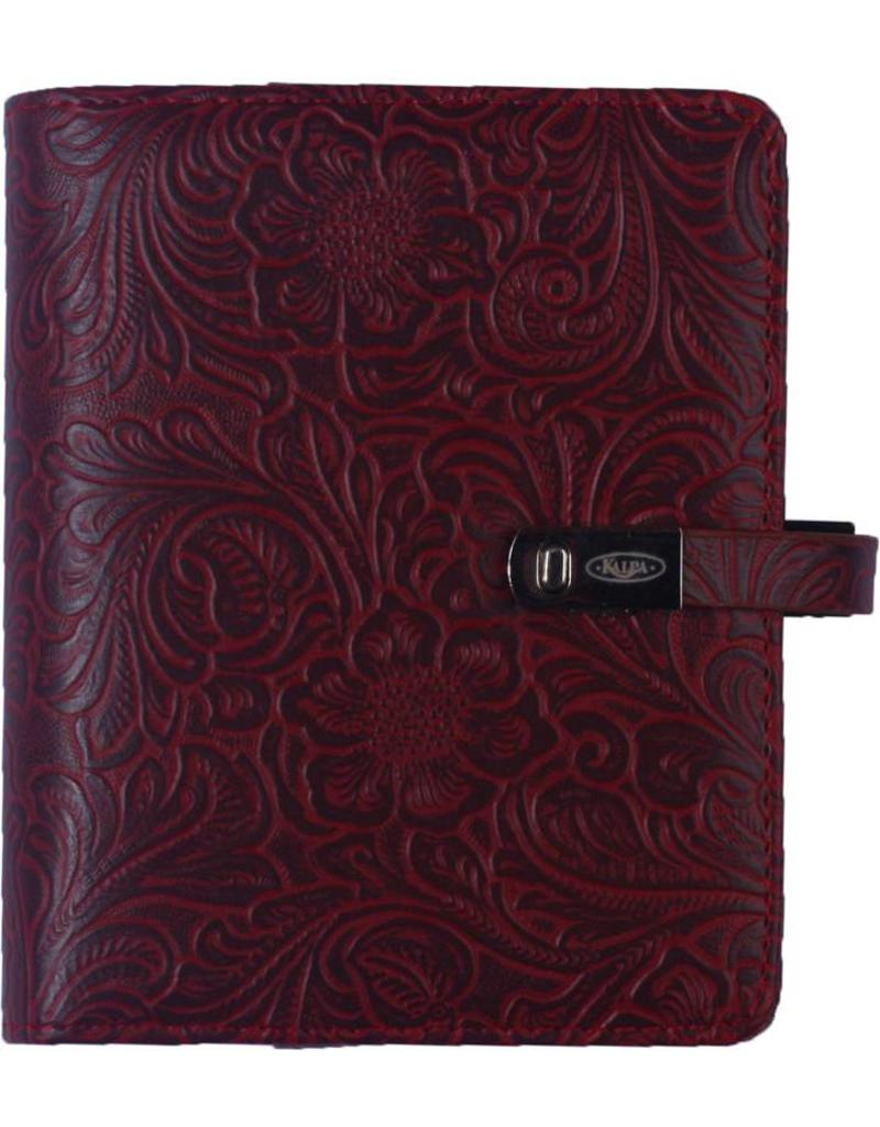 Kalpa Pocket organiser flower garden bordeaux