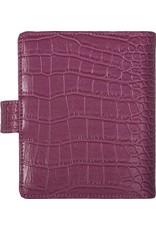 Kalpa Pocket (junior) organizer croco roze