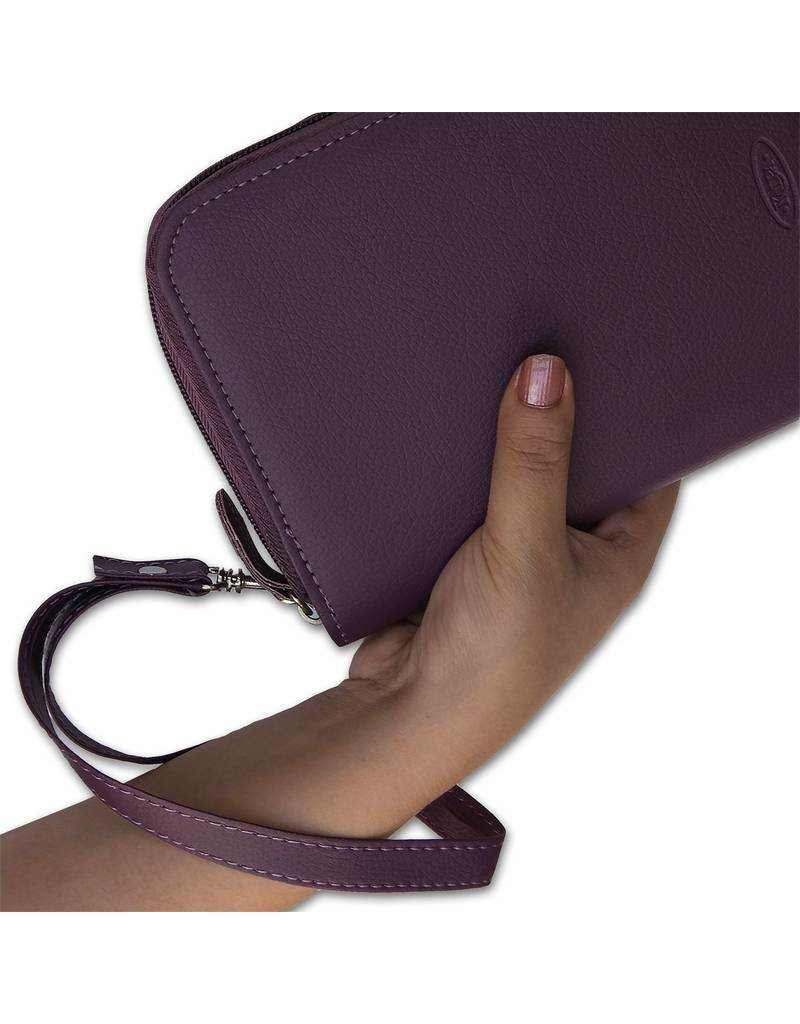 Kalpa Pocket organiser with zip pica purple