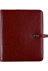 Kalpa 1011-40 Kalpa A5 Organiser Faux Leather With Paper Fillers Weekly Planner, Journal, Diary - Paro Brown