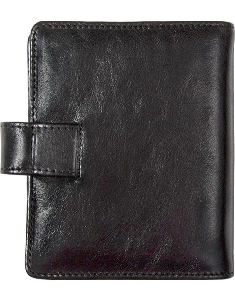 Kalpa Pocket organiser classic black - leather