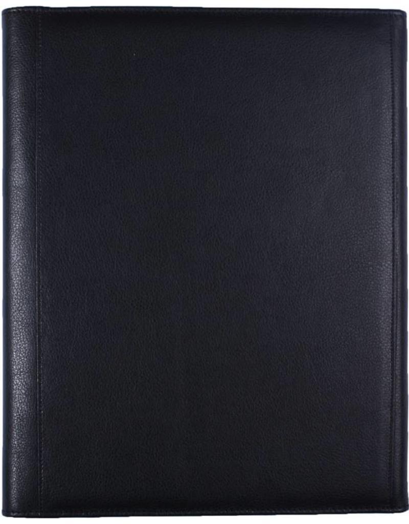 Kalpa 2100-Z A4 Writing Case Black Leather