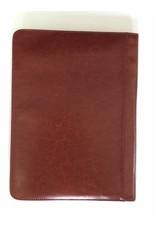 Kalpa Alpstein writing case with zip cognac