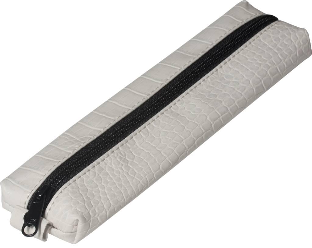 Kalpa 5401-93 Kalpa Bodensee pencase with zip Croco wit