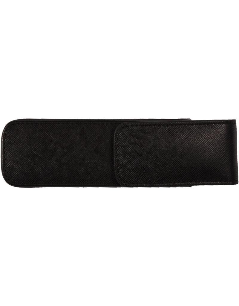 Kalpa Kalpa Wiesbachhorn 2 pens zwart Leather akbar