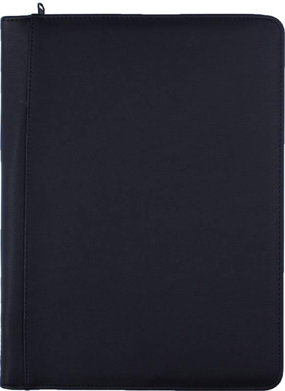 Kalpa 2400-81 Kalpa A4 Organiser Alpstein Writing Case Weekly Planner Journal Diary - 33 x 26 cm - Grain Black