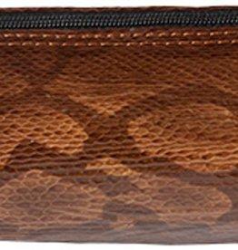 Kalpa 5400-94Alpsee penetui met rits Slangprint bruin