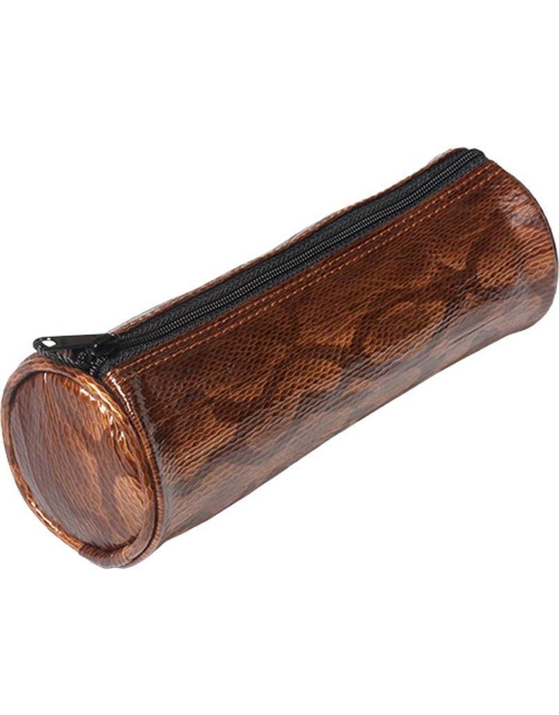 Kalpa 5400-94 Kalpa Alpsee pencase with zip snakeprint bruin