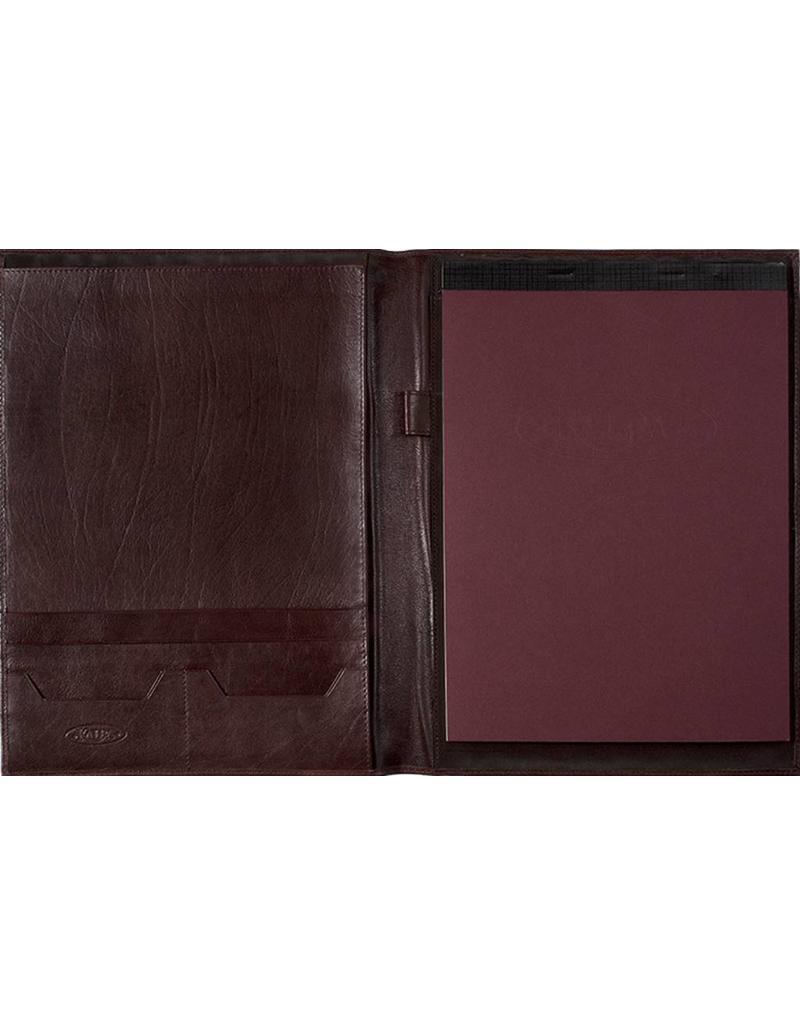 Kalpa Zurich writing case analine wine - leather