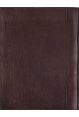 Kalpa Zurich schrijfmap analine bordeaux - leer