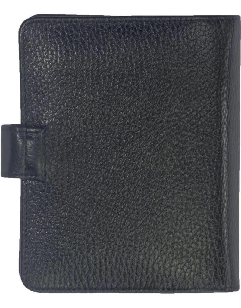 Kalpa 1311-Id Kalpa pocket organiser Dolber black - leather + free agenda