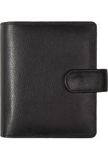 Kalpa Pocket organiser estol black - leather