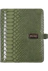 Kalpa Pocket organiser croco green