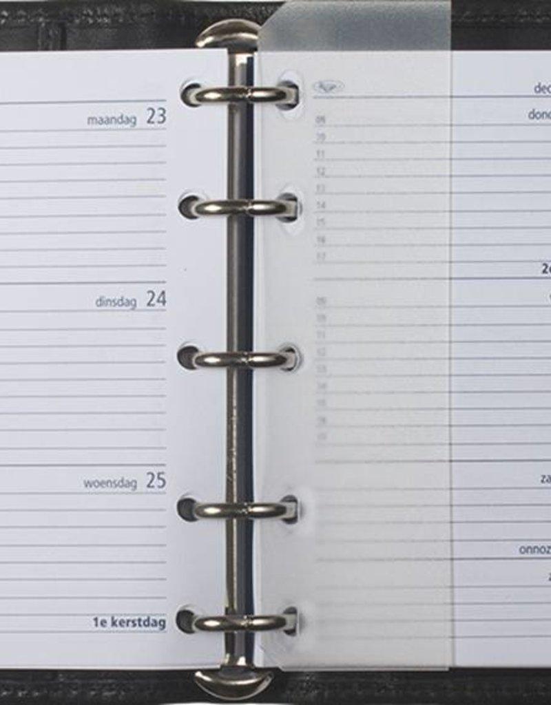 Kalpa 1401-F Kalpa Mini Organiser Cowleather black + free agenda