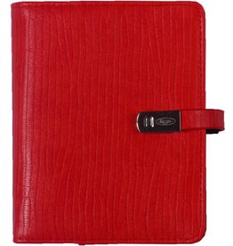 Kalpa 1311-41 Pocket organiser croco bricky red