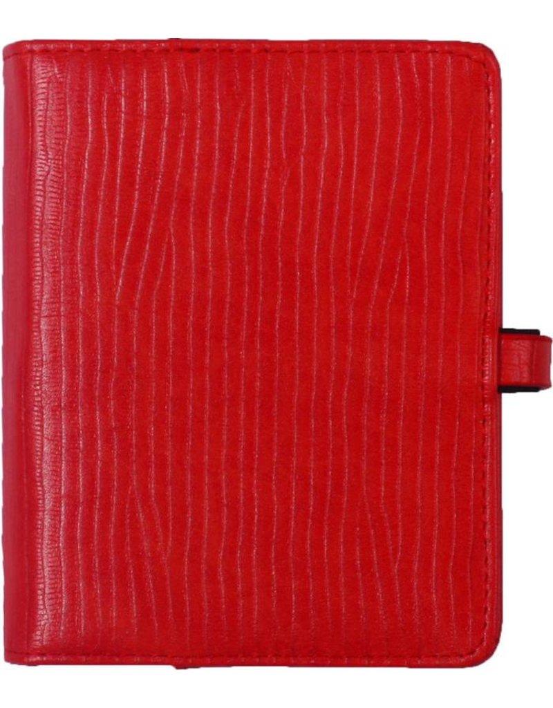 Kalpa Kalpa Pocket organizer croco brick red