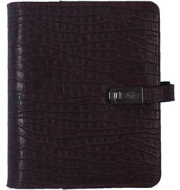 Kalpa 1311-49 Pocket (junior) organizer croco koffiebruin