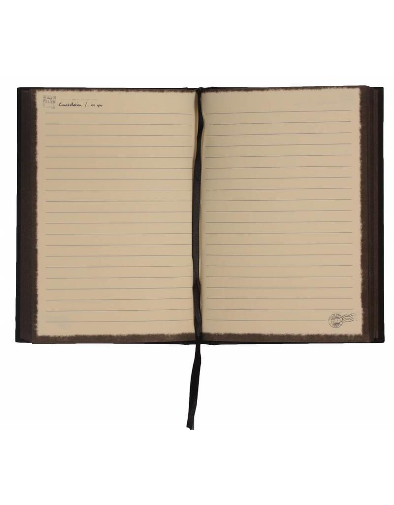 Dreamnotes Notitieboek sterrenbeeld: Waterman - 21 januari t/m 18 februari