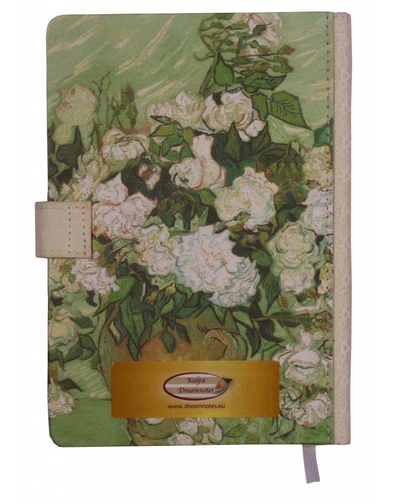 Dreamnotes Dreamnotes notitieboek Van Gogh 19 x 13 cm. groen