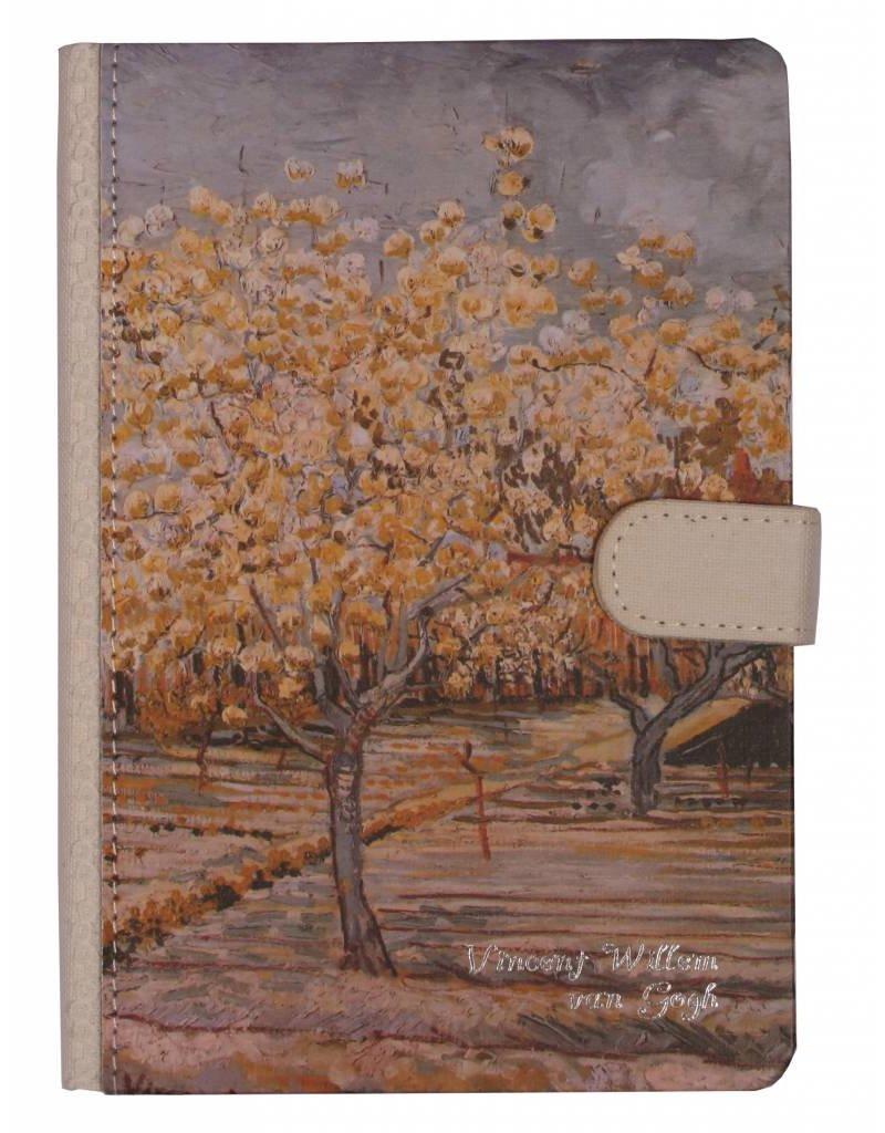 Dreamnotes Dreamnotes notitieboek Van Gogh 19 x 13 cm. grijs