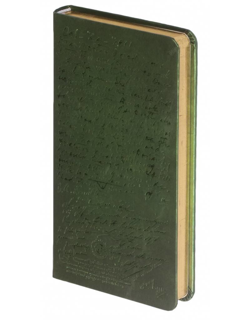 Dreamnotes 5 x 9 cm. groen
