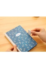 Dreamnotes 5 x 25 cm. blauw