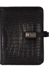 Kalpa Pocket organiser croco black