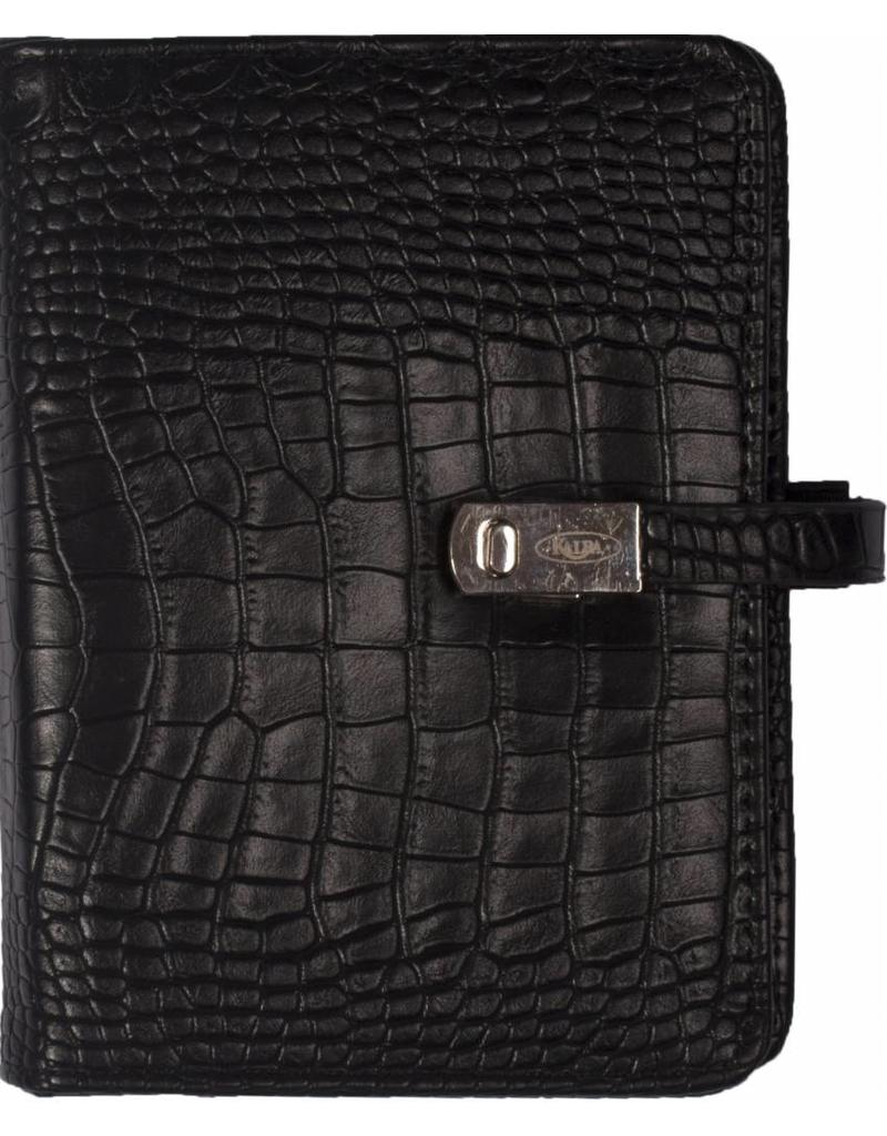 Kalpa Kalpa Pocket organizer croco black