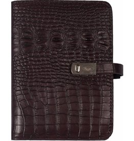 Kalpa 1311-53 Pocket (junior) organiser Croco Bordeaux