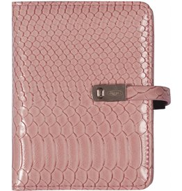 Kalpa 1311-56 Pocket (junior) organizer gloss croco roze